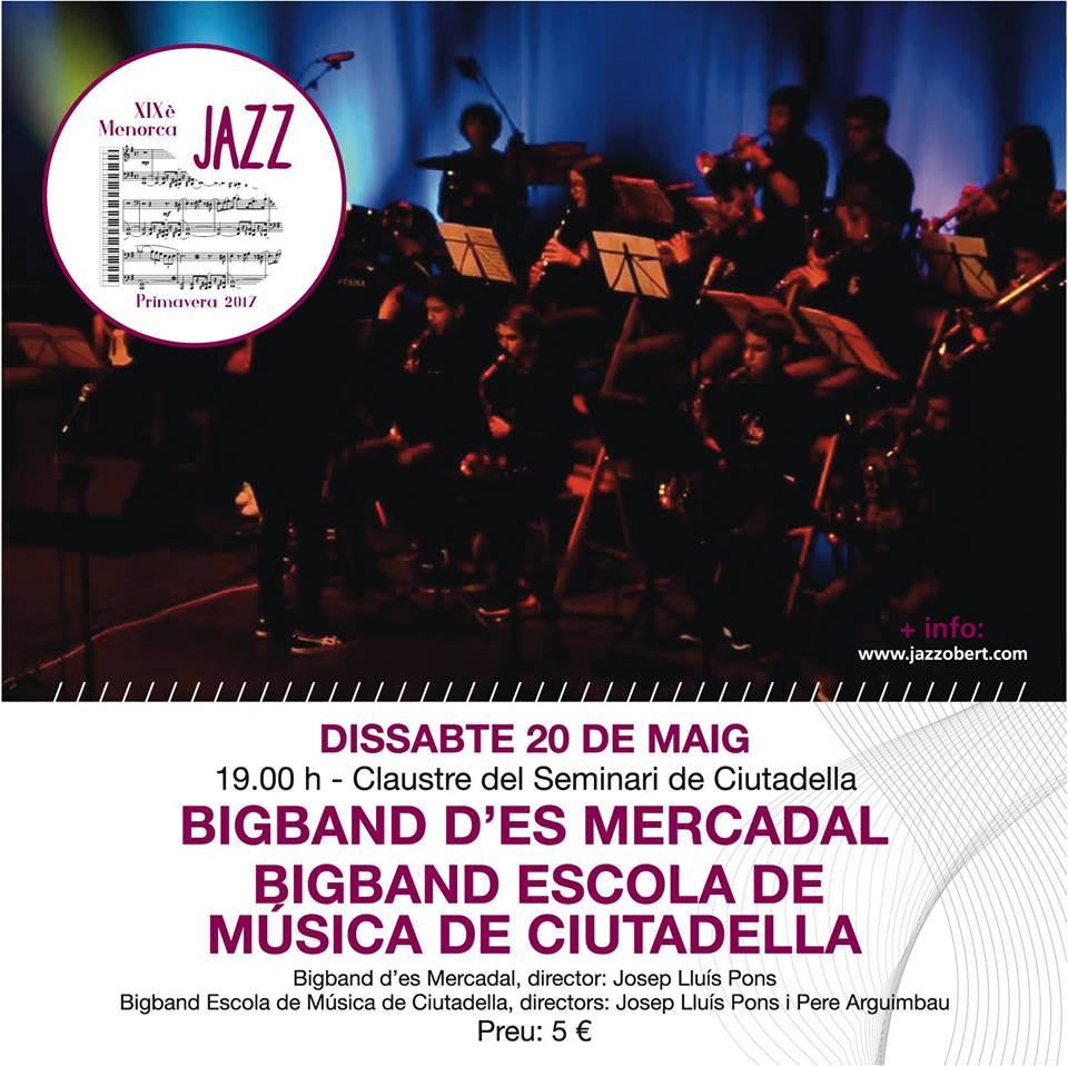Big Band d'es Mercadal i Big Band Escola de Música de Ciutadella