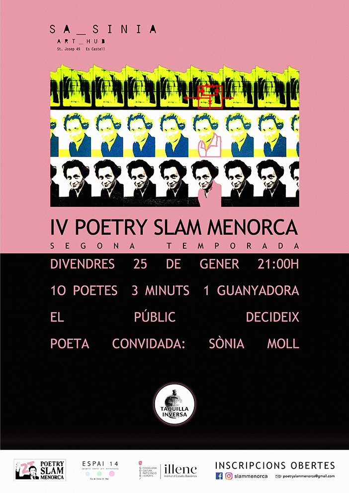 4a Poetry Slam Menorca (2a temporada)